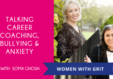 Women with Grit Podcast with Soma Ghosh